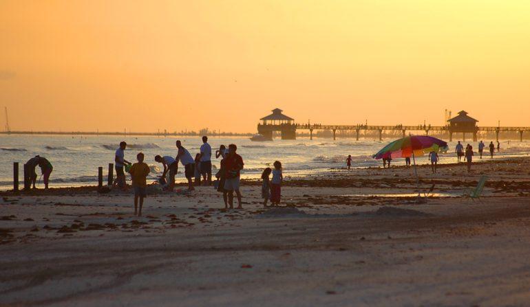 fort myers beach, florida, sunset-1553788.jpg